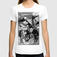 infamous T-shirts featuring  Bird of Steel Comix – #8 of 8  - (Society 6 POP-ART COLLECTION SERIES) by Tex Watt