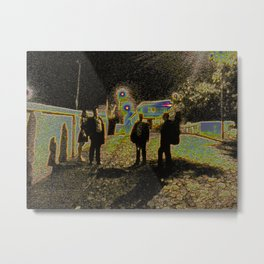 The Band Metal Print