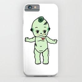 Frankenstein Kewpie Baby iPhone Case