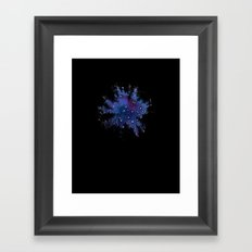 Up, at night, alone III Framed Art Print