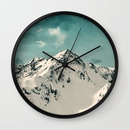 Snow Peak Wall Clock