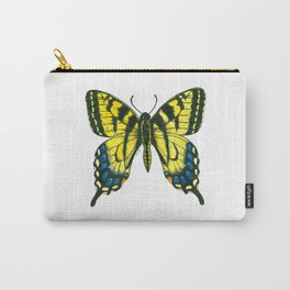 Tiger swallowtail butterfly watercolor and ink Carry-All Pouch