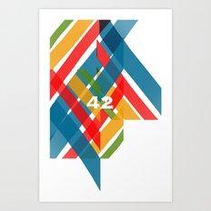 42 Art Print