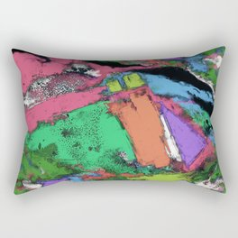 Mapping points Rectangular Pillow