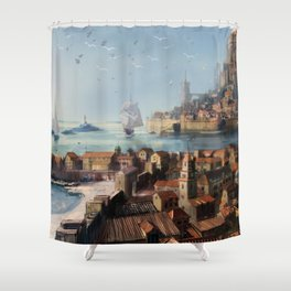Antillia Shower Curtain