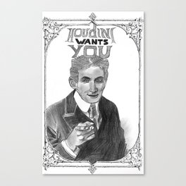 Houdini Wants You Canvas Print