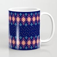 nordic Mugs featuring Nordic Star by RED ROAD STUDIO