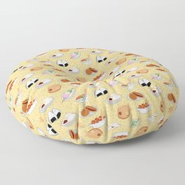 Japanese Street food Floor Pillow