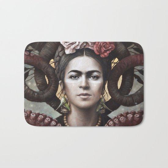Hommage a Frida 5 Bath Mat
