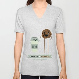 COFFEE & COOKIE Unisex V-Neck