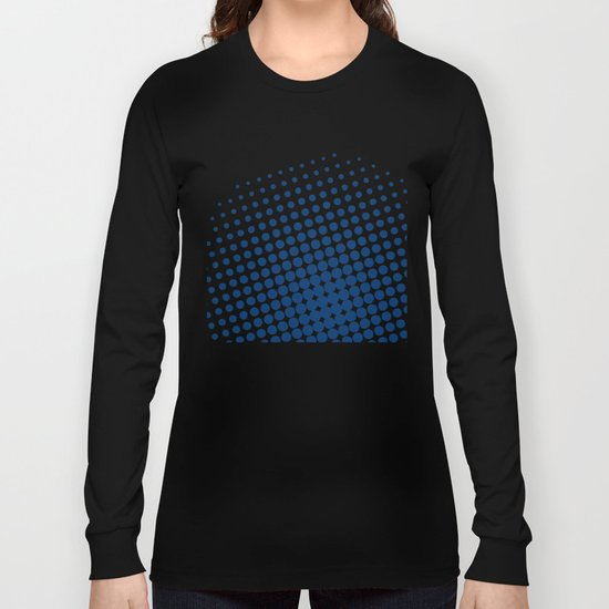 White raster - Optical game11 Long Sleeve T-shirt