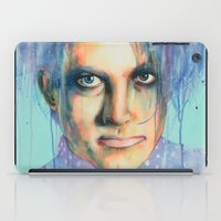 the cure iPad Cases featuring Pastel Cure by Anne Blondie Bengard