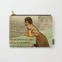 Science Quote Rosalind Franklin Carry-All Pouch