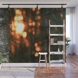 Sunset woods - Poland - Landscape and Rural Art Photography Wall Mural