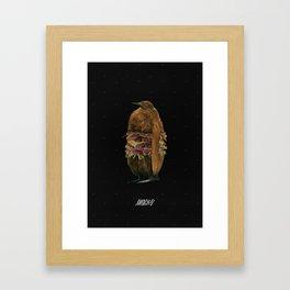 PENGUIN BURGER Framed Art Print
