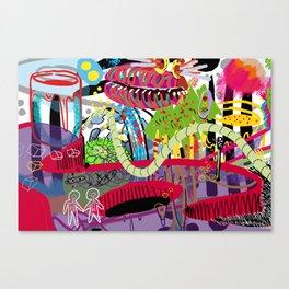 Absurd Love Canvas Print