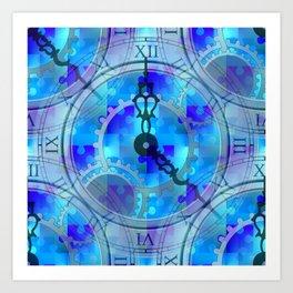 Time Puzzle Art Print