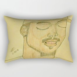 Chance the rapper by Double R Rectangular Pillow