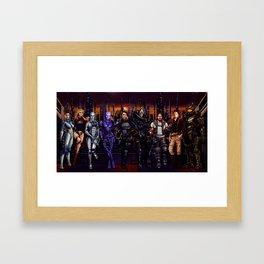 Mass Effect - Team of Awesomness Framed Art Print