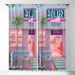 Roller Skate Nostalgia Blackout Curtain