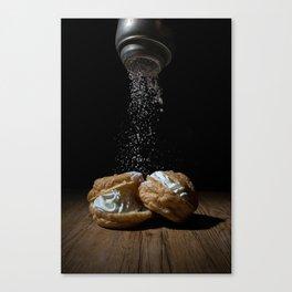 Cream Puff Canvas Print