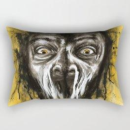 A Moment's Fear Rectangular Pillow