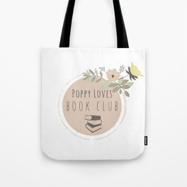 Poppy Loves Book Club Tote Bag