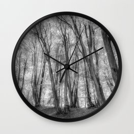 The Ghost Forest Wall Clock