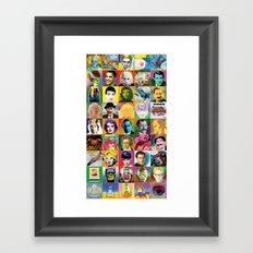 POP Wallpaper Framed Art Print