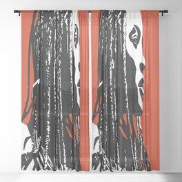 Himbadreads Sheer Curtain
