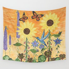 The Companion Garden Wall Tapestry