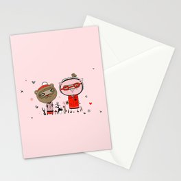 Two Friends Stationery Cards