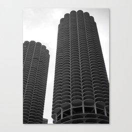 Chicago Marina Towers Canvas Print