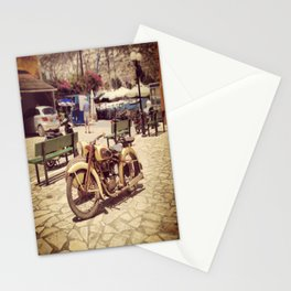 Motorcycle Stationery Cards