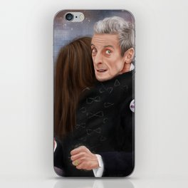 12th Doctor - Not a hugging person iPhone Skin