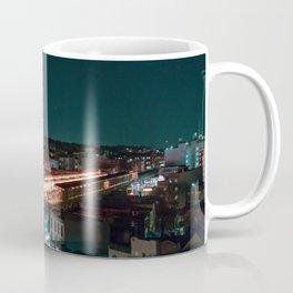 Subway Skyline Coffee Mug
