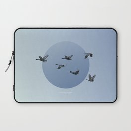 [4.10—4.14] Wild Geese Fly North Laptop Sleeve