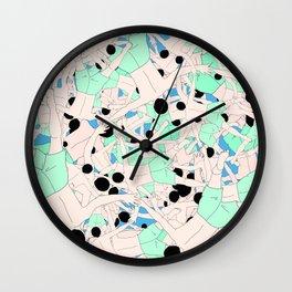FALL ASLEEP Wall Clock