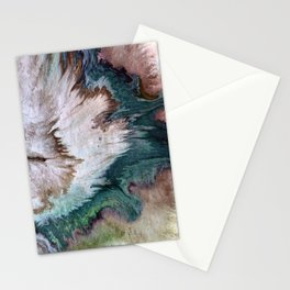 Napping on the beach Stationery Cards