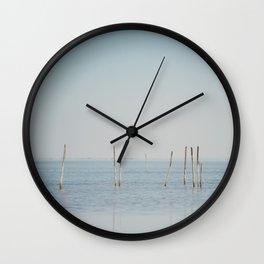the Étang de Vaccarès ... Wall Clock
