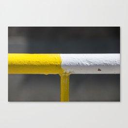 Street Fence composition Canvas Print