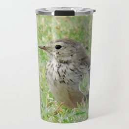 Pipit on the Lawn Travel Mug