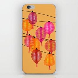 Chinese night iPhone Skin