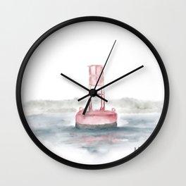Coastal Colour Wall Clock