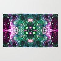 kaleidoscope Area & Throw Rugs featuring Kaleidoscope by Mark Kriegh