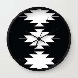 Mojave B&W Wall Clock