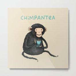 Chimpantea Metal Print