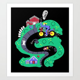 Special Delivery Art Print
