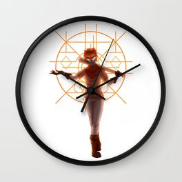 Pop goes the weasel Wall Clock
