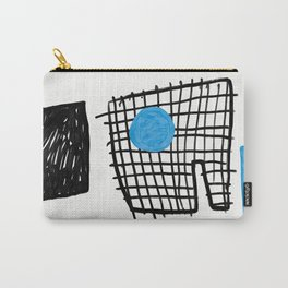 a graphic montage Carry-All Pouch